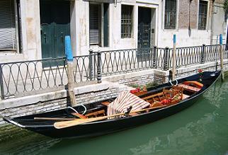 Venice gondola boat