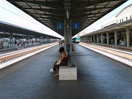 mestre station train platform