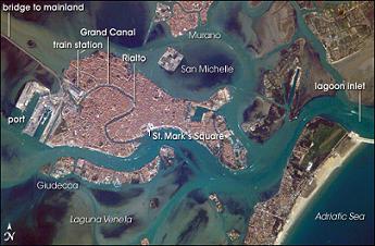 Venice port lagoon