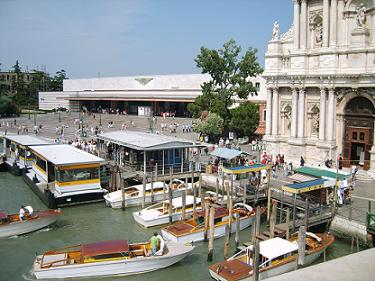 water bus santa lucia station